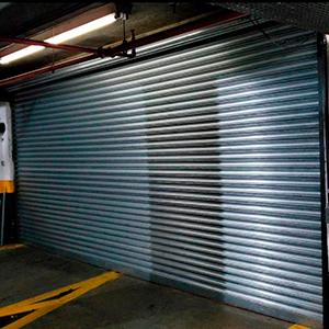 Portas de Aço de Enrolar Automática